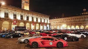 Lamborghini in piazza
